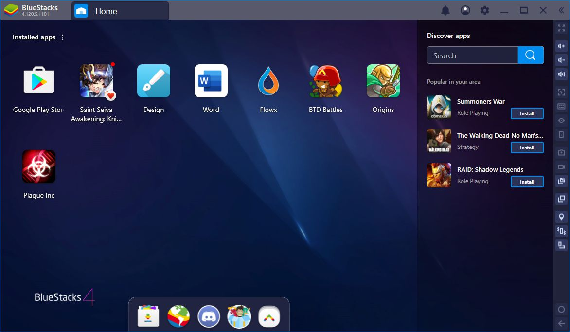 bluestacks pc
