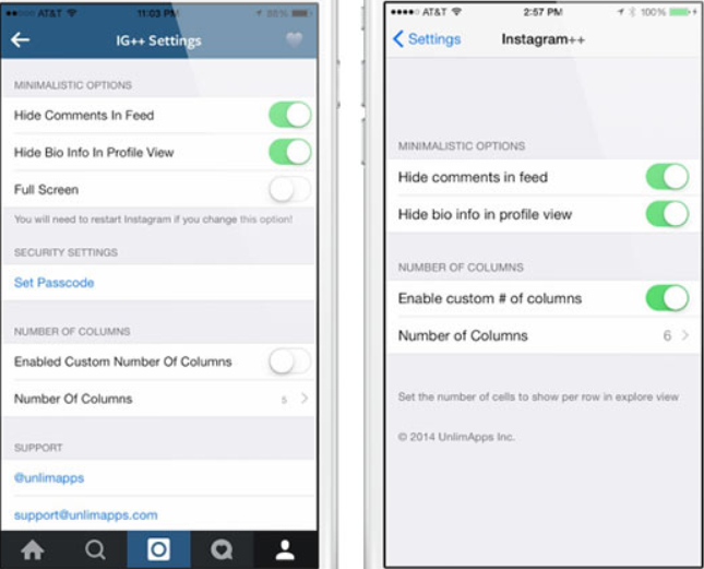 Instagram++ – Install Instagram++ on iOS using Panda Helper